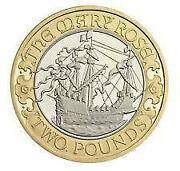 Mary Rose 2 Pound Coin