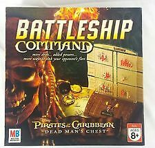 BATTLESHIP COMMAND PIRATES OF THE CARIBBEAN ÉTAT NEUF