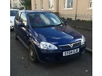 2004 vauxhall corsa 1.2 sxi (lady owner)