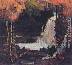"""Limited Edition """"Woodland Waterfall"""" by Tom Thomson"""
