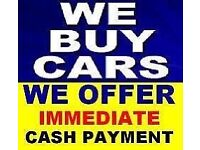 We buy any cars/vans top prices paid cash on collection