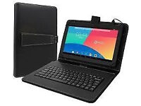 """New10.1"""" Inch Android Tablet PC 16GB Quad Core 5.1 Dual Camera Keyboard/Case Option 6 Mths Warranty"""