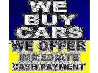CARS BOUGHT FOR CASH