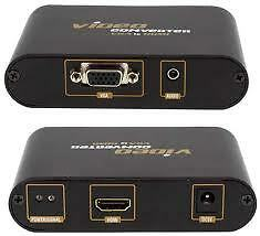 VGA & AUX 3.5mm Audio to HDMI Converter