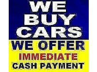 CARS BOUGHT FOR CASH FOR RESALE OR FOR BREAKING