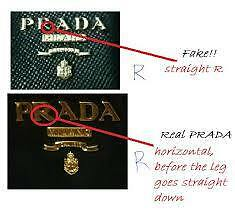 prada nylon shopper tote - fake vs real Prada purse | eBay