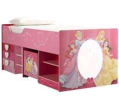 Disney Princess Bed with bed tent Deception Bay Caboolture Area Preview