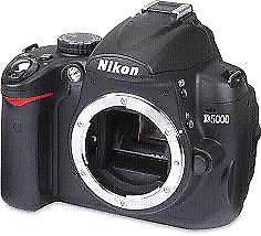 Boîtier reflex Nikon D5000