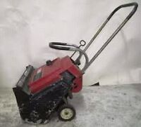 Snowblowers and Lawnmowers