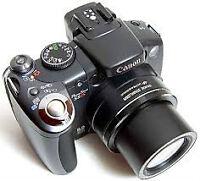 camera canon powershot S5IS/canon powershot S5IS
