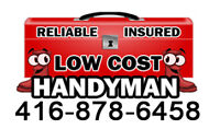 ☻☻LOW COST AND EFFECTIVE HANDYMAN••