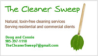The Cleaner Sweep - Since 2011