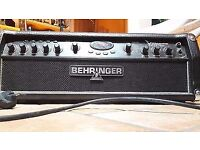 Behringer vampire guitar amp head and cab