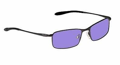 Poly Sodium Flare Glass Working Glasses in Phenom Metal Safety Frame - 49-18-125