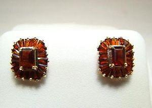 Bohemian Garnet Earrings