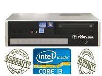 CORE I3 1TB DESKTOP TOWER 8GB INTEL CORE i3 @ 3.2GHz HDMI WINDOW 7 PC