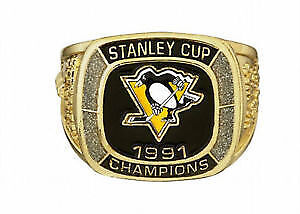 Pittsburgh Penquin Ring Molson Cdn NHL Commemorative StanleyCup