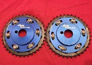 pair adjustable cam gears for Nissan SR20DET engine