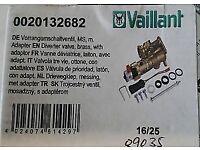 brand new in box vaillant ecotec diverter valve brass 0020132682