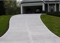 CONCRETE WALKWAYS DRIVEWAYS PATIOS