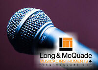Voice Lessons at Long & McQuade Woodstock