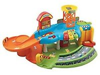 Toot toot drivers garage plus track and cars