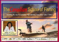 The Canadian School of Fishing Are YOU ready for the 2015 season