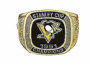 Stanley Cup Champion Ring from Molson Canadian  Pittsburgh peng