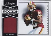 Robert Griffin III Jersey Card
