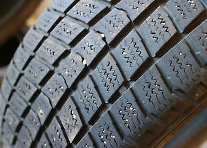 195/55R16 Set of 2 Nokian used winter FREEInst.&Bal.70%tread
