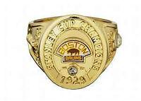 Boston Bruin Ring