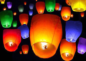 Sky flying lanterns for wedding & birthday Party & events