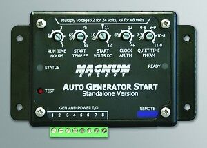 Automatic Generator Start System (AGS)