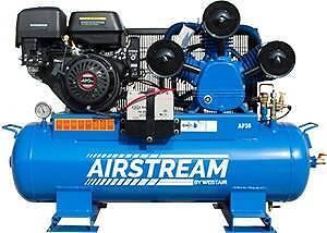 WestAir Air Compressor - Petrol 40CFM 120Litre Tank 420CC Engine Bibra Lake Cockburn Area Preview