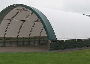 Wanted: Dome fabric hay building and install