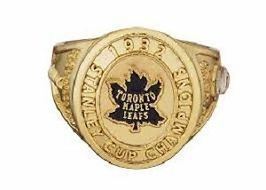 Toronto Maple Leafs Molson Canadian Stanley Cup ring