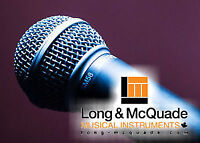 Affordable, Professional Music Lessons at Long&McQuade North Bay