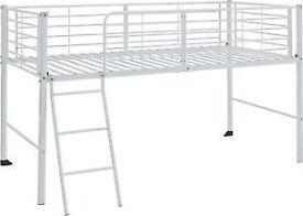 BRAND NEW WHITE MID SLEEPER BED FRAME