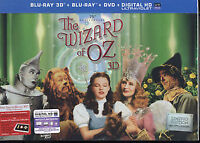 The Wizard of Oz 3D Blue Ray box set 75th Anniversary