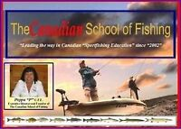 """The Canadian School of Fishing! Now offering """"2016"""" GIFT CARDS!"""