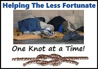 Helping the Less Fortunate, One Knot at a Time!