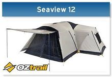 Large family tent (Oztrail Seaview  9+3) Como South Perth Area Preview