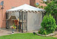Replacement Canopy with Net for 10 x 10 Gazebo