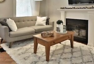 Mennonite Harvest Coffee Table - Distressed