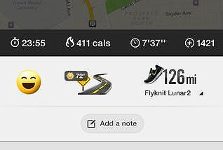 The best fitness apps - Nike+ Running