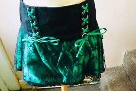 Burlesk Skirt Green size M/L