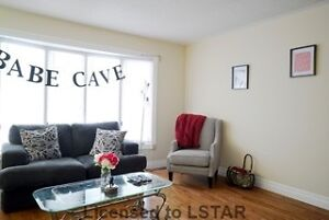 3 Bdrms Unit, Mins From Masonville Mall, Student/Family Rental
