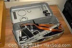 Vintage Photo Sniper Kit with Metal Case A