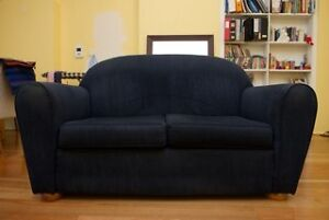 Navy Blue Couch - Free to good home - well worn but loved Surry Hills Inner Sydney Preview