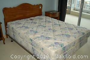 Queen Sized Bed With Headboard - C